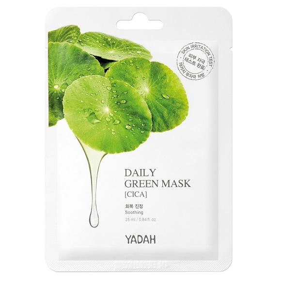 Masca de fata Cica Green Daily, 1 bucata, Yadah