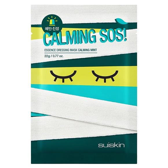 Masca de fata cu efect calmant Essence Dressing, 22 gr, Suiskin
