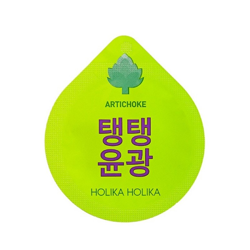 Masca de noapte cu anghinare anti-rid, 10 g, Holika Holika