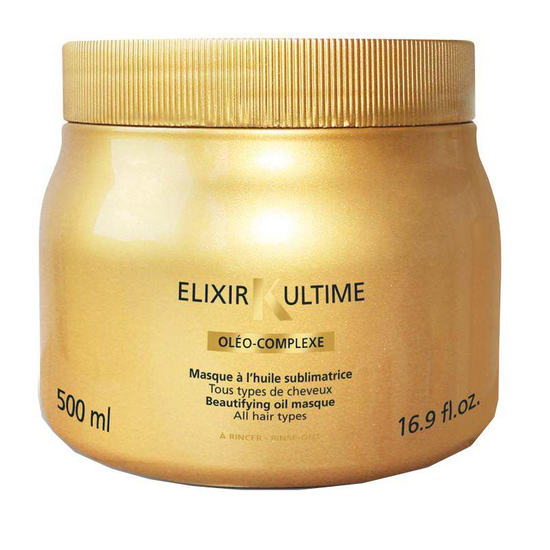 Mască pentru Strălucire Elixir Ultime, 500 ml, Kerastase