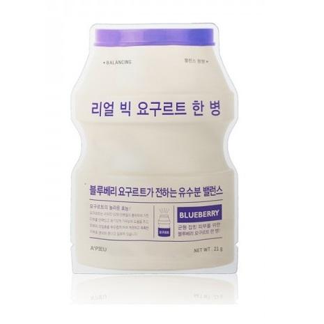 Masca faciala cu extract din iaurt si afine, 21 g, Apieu
