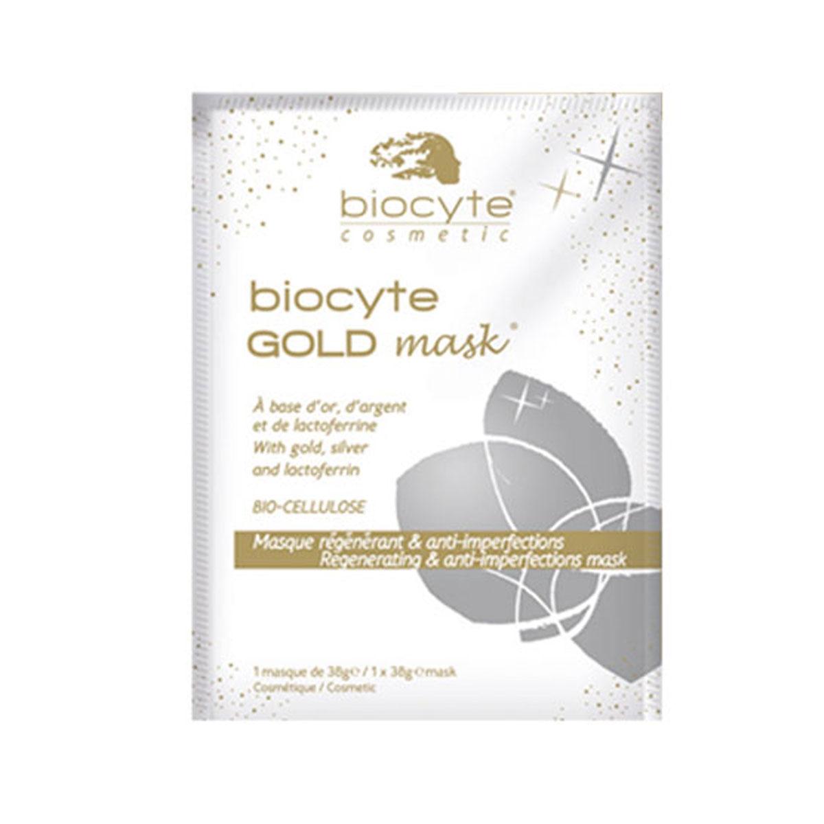 Masca Gold cu efect regenerator si anti-imperfectiuni, 25 g, Laboratoire Biocyte