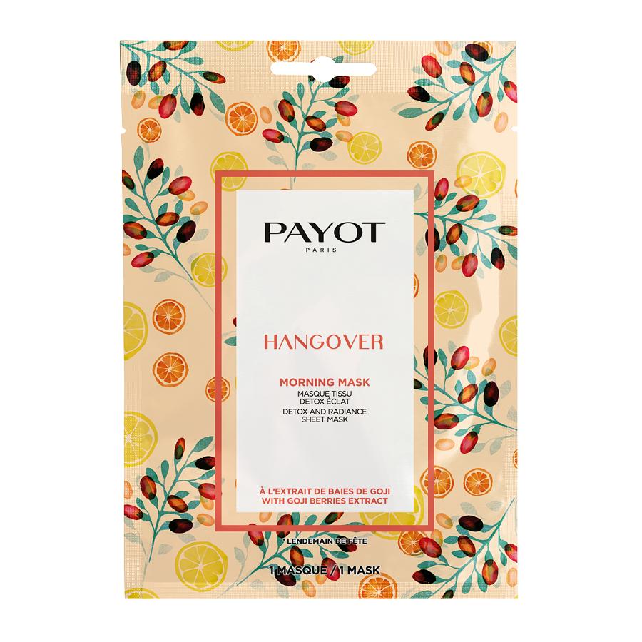 Mască șervețel pentru detoxifiere și strălucire Hangover Morning Mask, 1 bucata, Payot
