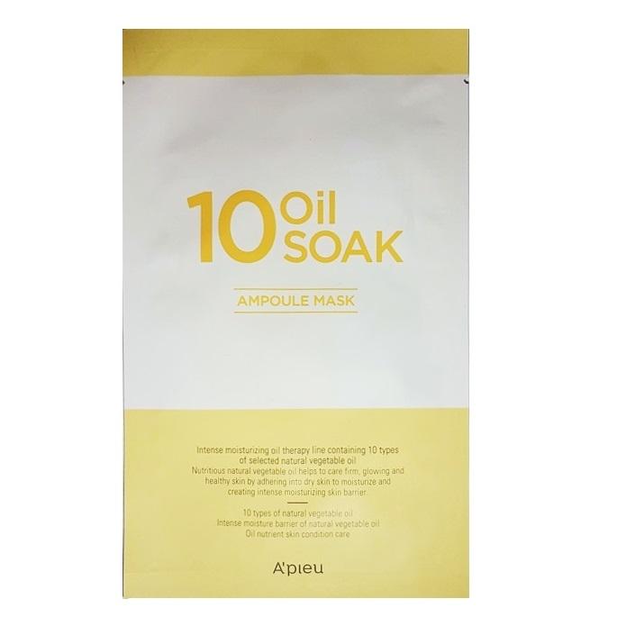 Masca hidratanta cu 10 tipuri de uleiuri vegetale, 22 g, Apieu