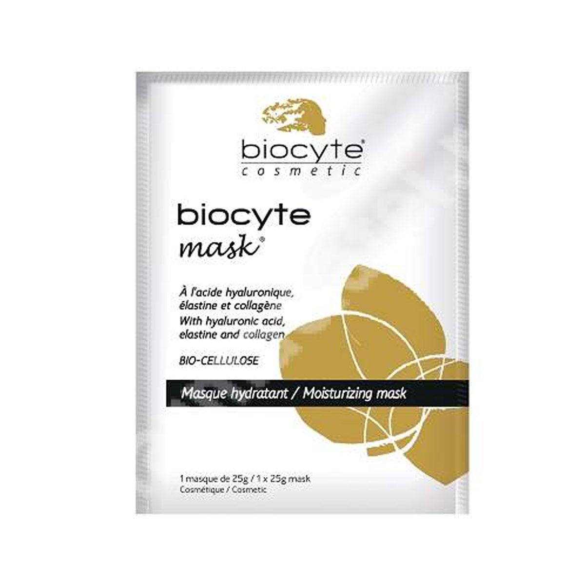 Masca hidratanta cu acid hialuronic, elastina si colagen, 25 g, Laboratoire Biocyte
