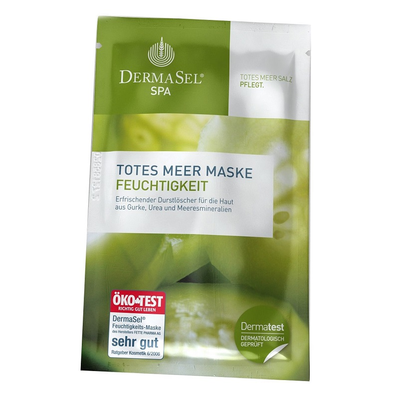 Masca hidratanta cu castraveti, 12 ml, DermaSel