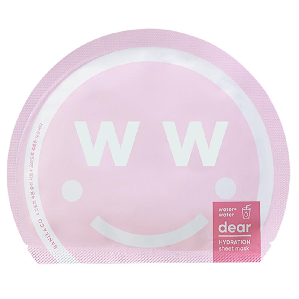 Masca hidratanta pentru fata Water+ Dear Hydration, 27 ml, Banila Co
