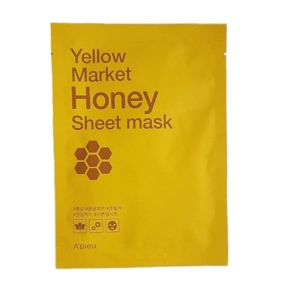 Masca hranitoare cu extract de Miere, Yellow Market, 21g, Apieu