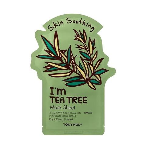 Masca faciala cu arbore de ceai I'm, 21 g, TonyMoly