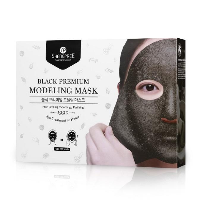 Masca modelatoare Black Premium, 5 bucati, Shangpree