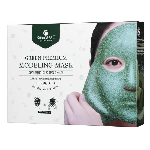 Mască modelatoare Green Premium, 5 bucăți, Shangpree