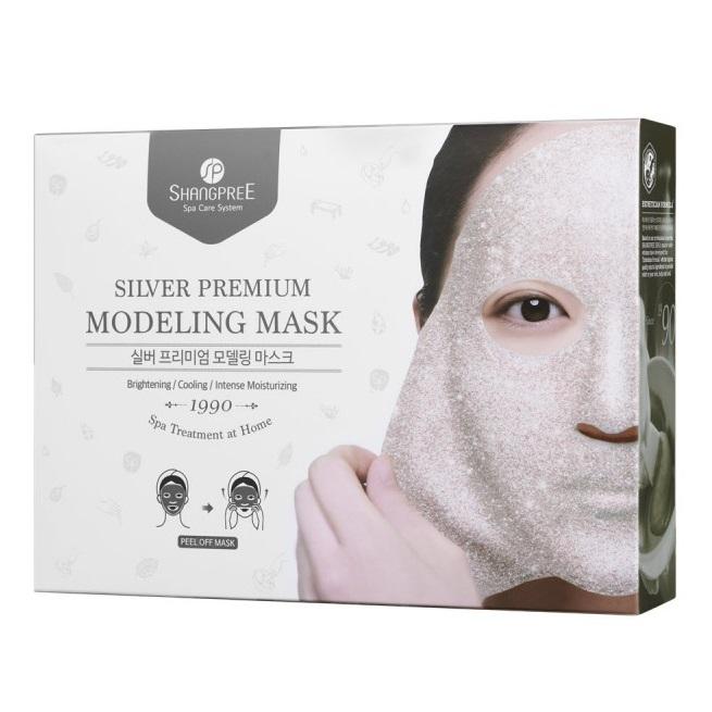 Mască modelatoare Silver Premium, 5 bucăti, Shangpree