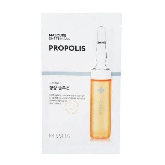 Mască nutritivă cu extract de propolis, 28 ml, Missha