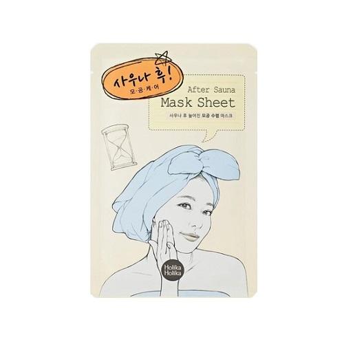 Mască pentru îngrijirea porilor After Sauna, 18 ml, Holika Holika