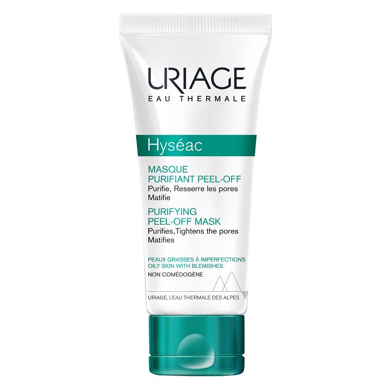 Masca purifianta peel-off Hyseac, 50ml, Uriage
