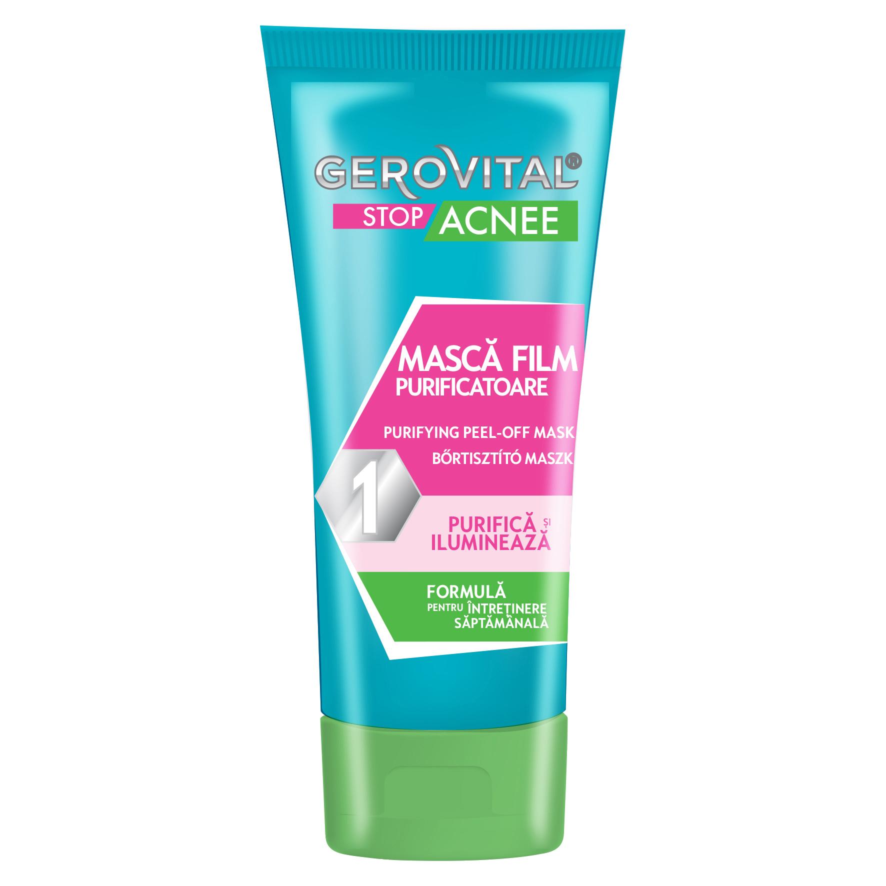 Masca purificatoare Stop Acnee Gerovital, 100 ml, Farmec