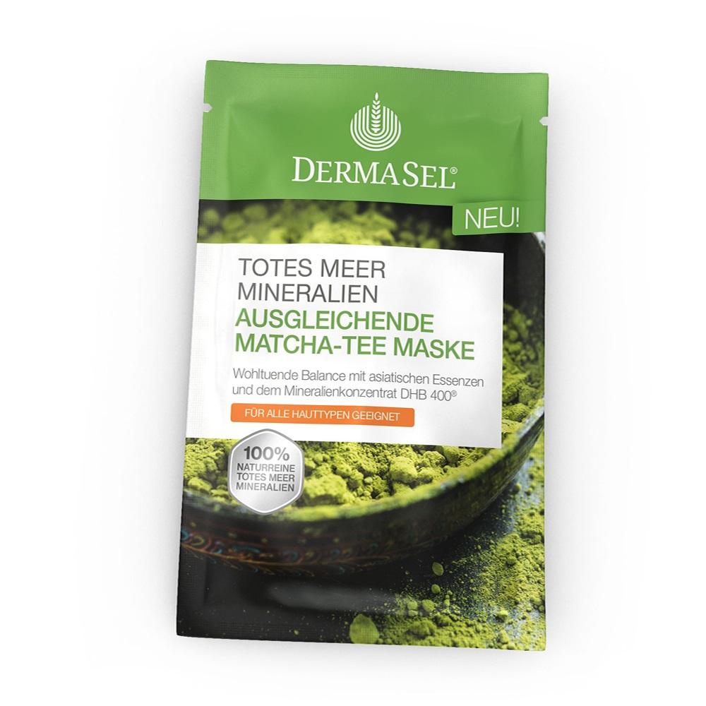 Masca reechilibranta cu Ceai Matcha, 12 ml, DermaSel