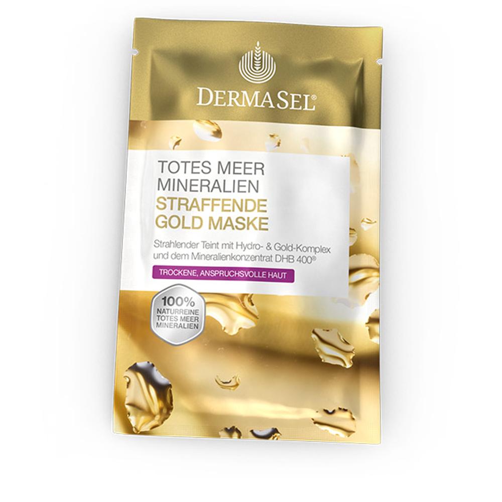 Masca regeneranta si pentru fermitate cu aur Exklusiv, 12 ml, DermaSel