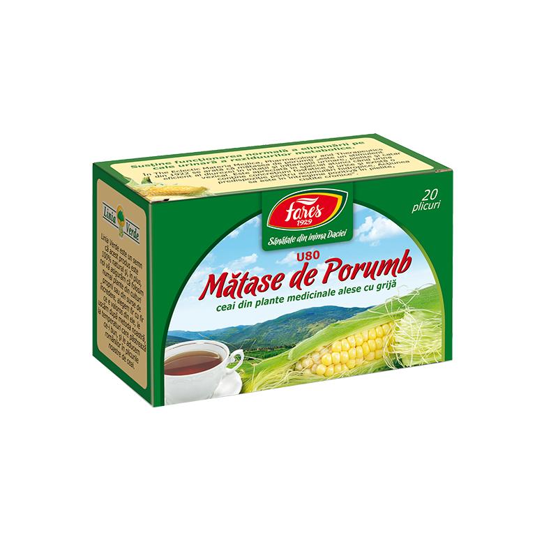Ceai matase de porumb, U80,20 plicuri, Fares