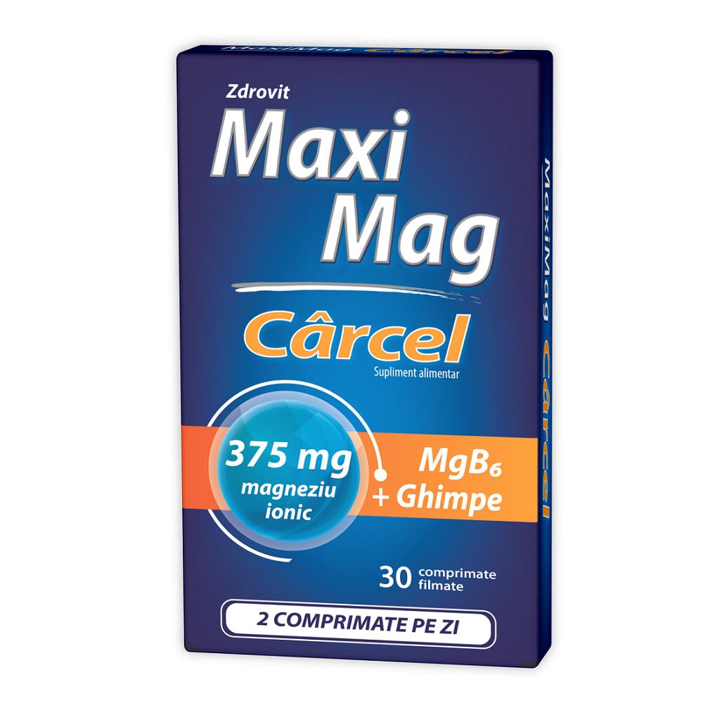 Maximag Carcel, 30 comprimate, Zdrovit