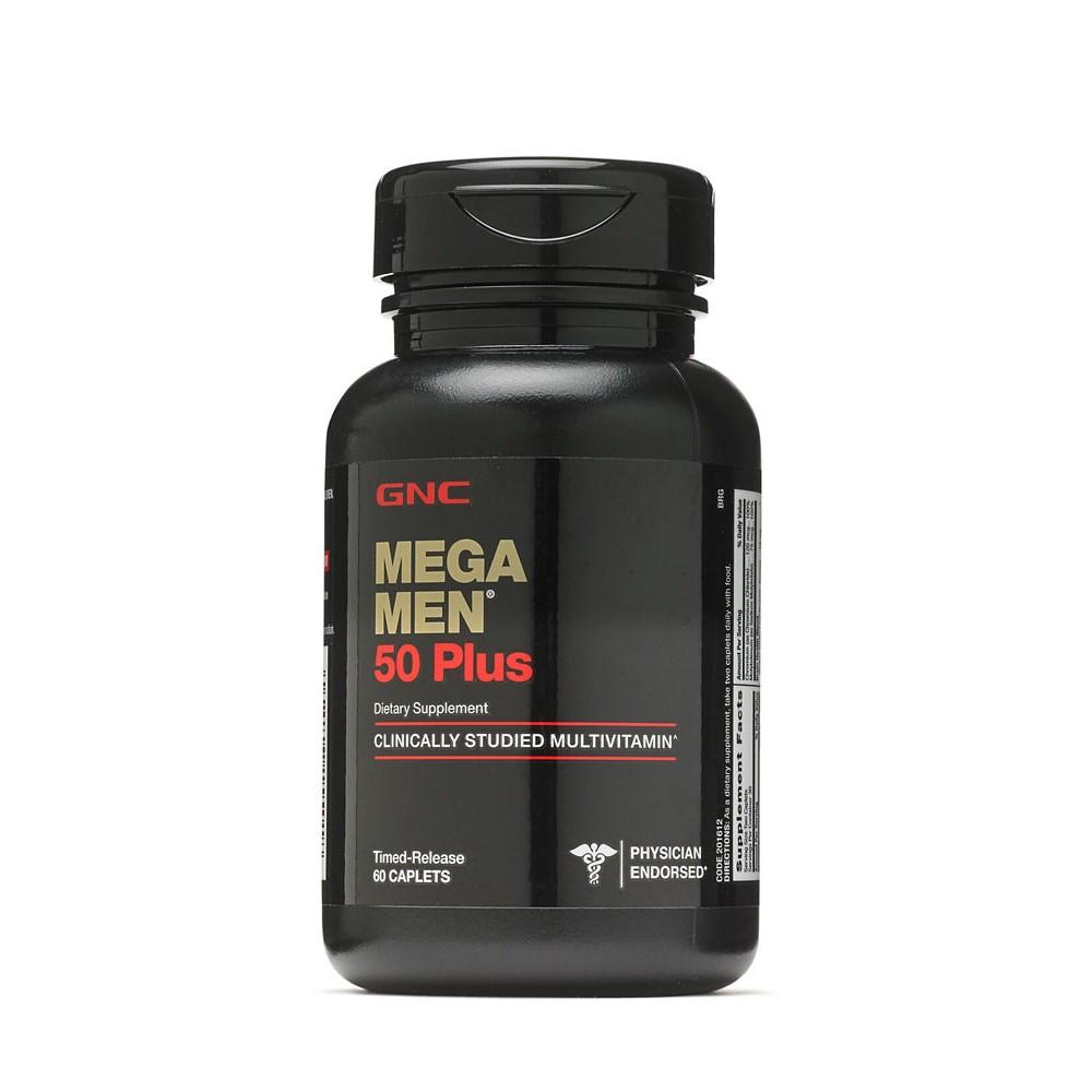 Mega Men 50 Plus (201612), 60 tablete, GNC