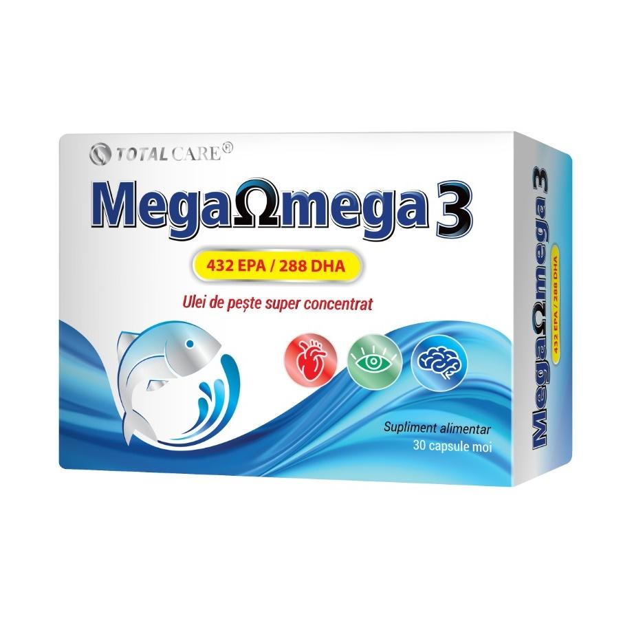 Mega Omega 3, 30 capsule moi, Cosmopharm