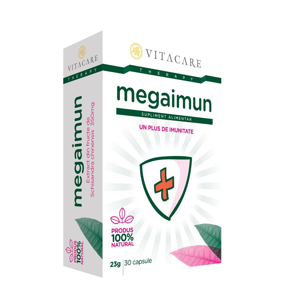 Megaimun, 30 capsule, Vitacare