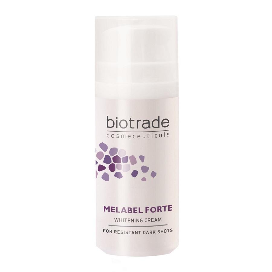 Cremă depigmentantă cu acțiune triplă Melabel Forte, 30 ml, Biotrade