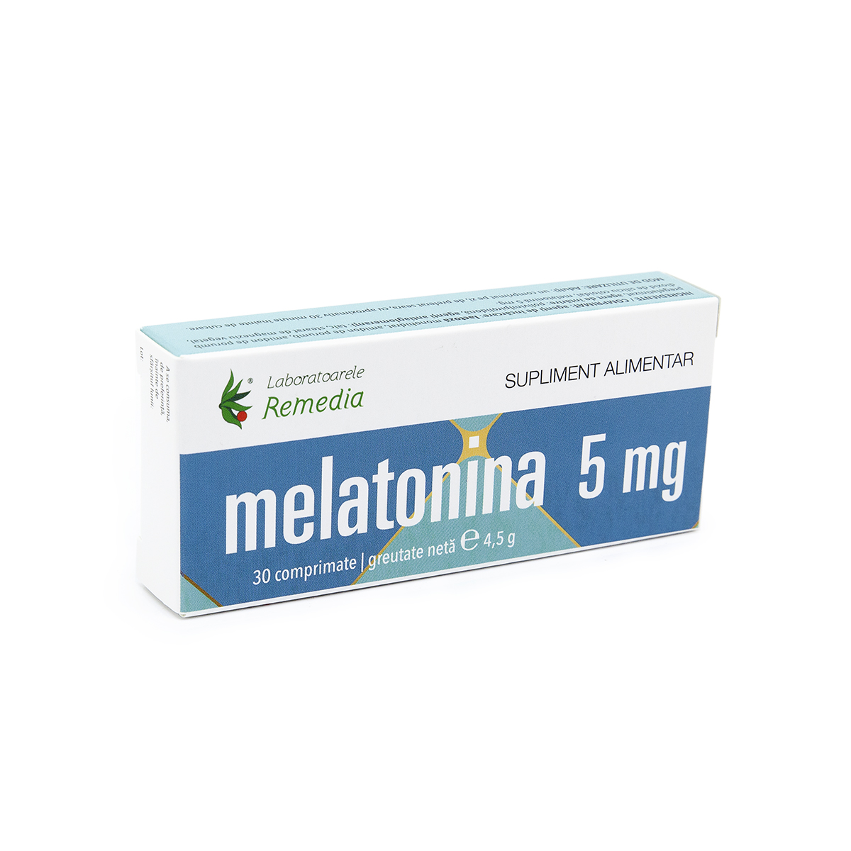 Melatonina 5mg, 30 comprimate, Remedia