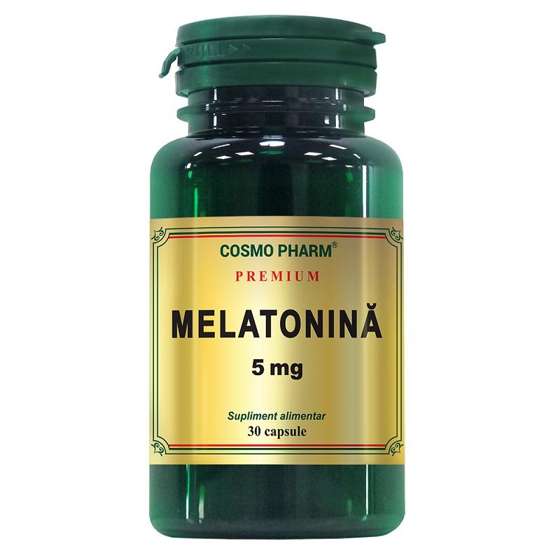 Premium Melatonina 5 mg, 30 capsule, Cosmopharm
