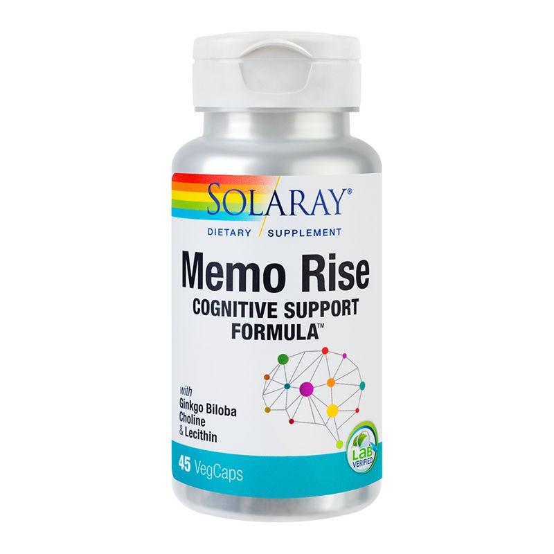 Memo Rise Solaray, 45 capsule, Secom