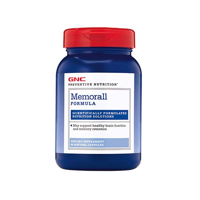 Memorall (749666), 60 capsule gelatinoase moi, GNC