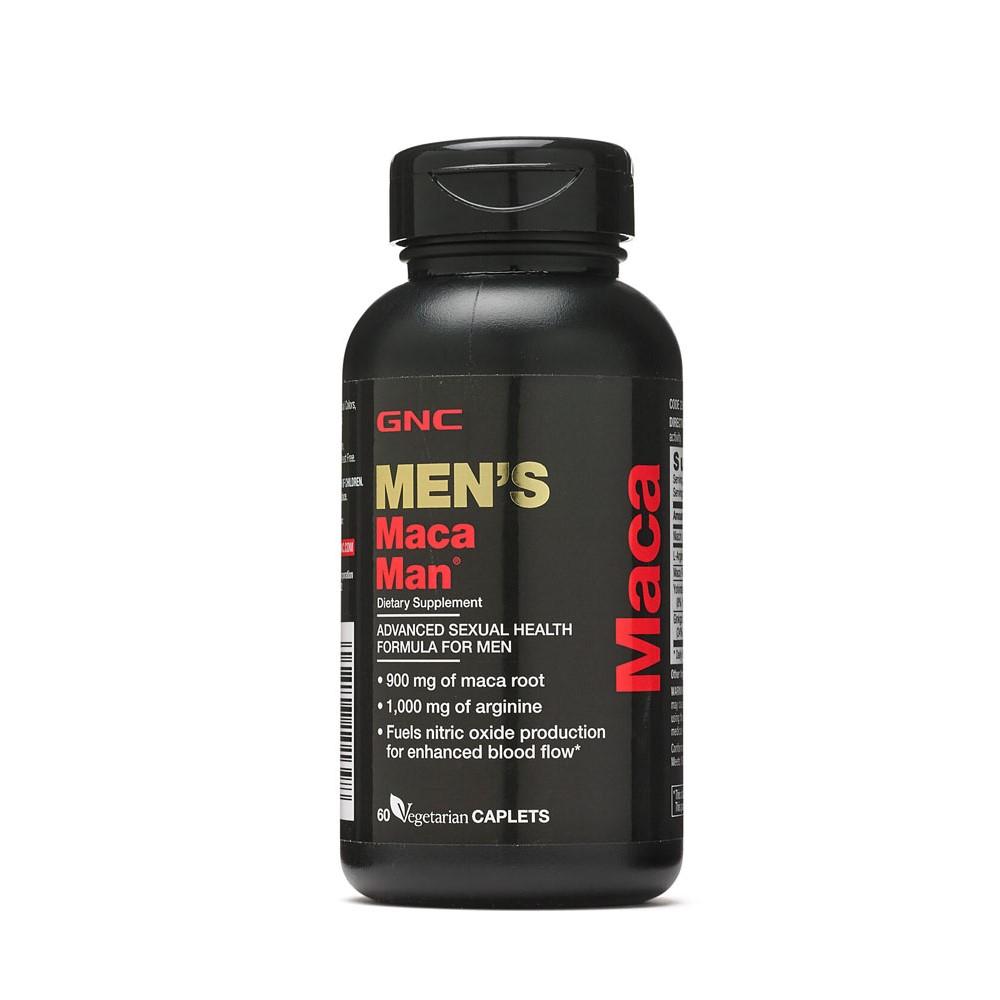 MEN'S Maca Man (236221), 60 tablete, GNC