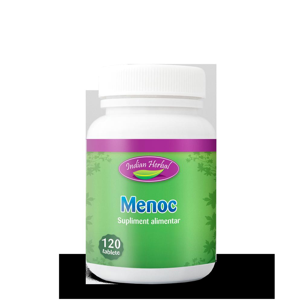 Menoc, 120 tablete, Indian Herbal