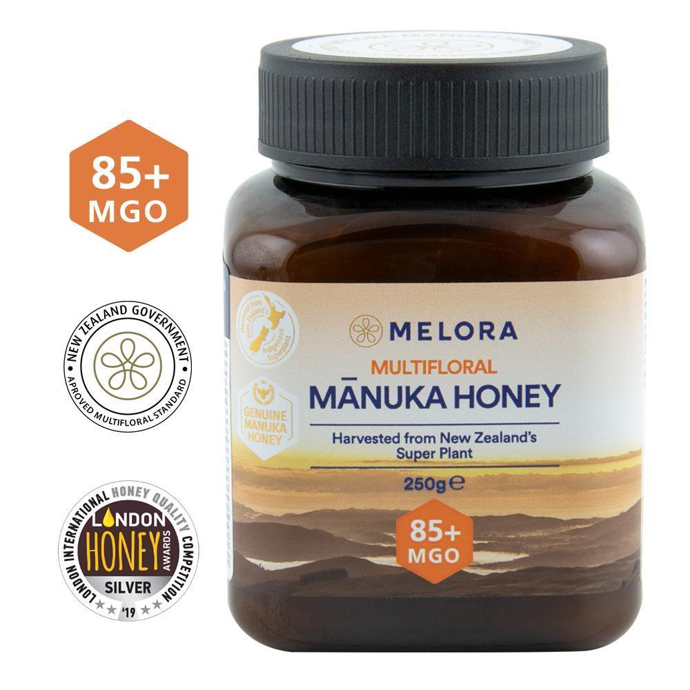 Miere de Manuka poliflora MELORA, MGO 85+ Noua Zeelanda, 250 g, Republica Bio