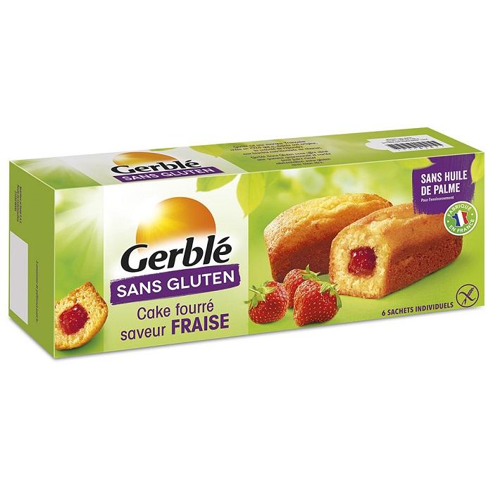 Minichec cu crema de capsuni fara gluten, 210 g, Gerble