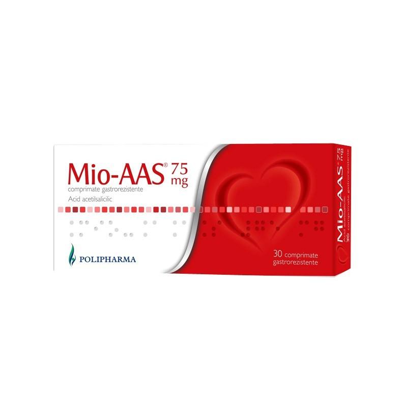 Mio-Aas 75mg, 30 comprimate, Polisano