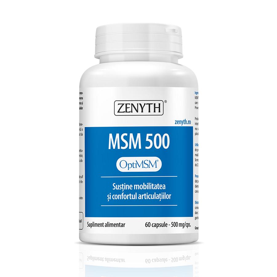 MSM 500, 60 capsule, Zenyth