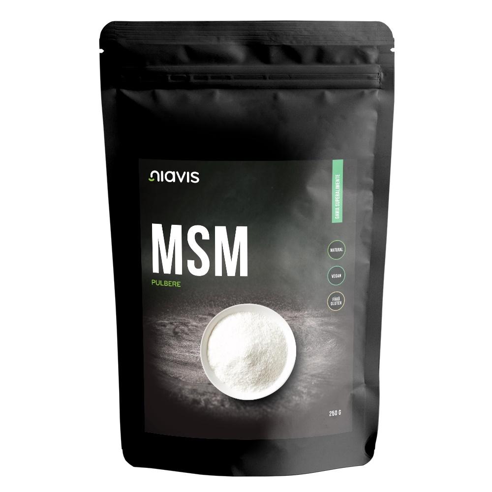 MSM  pulbere ecologica, 250 g, Niavis