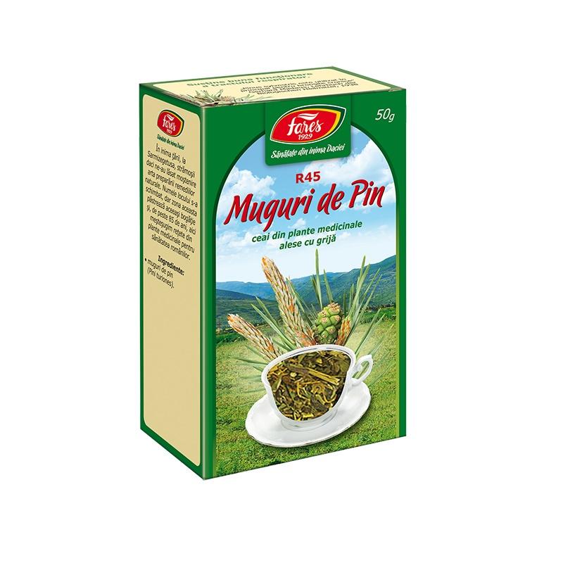 Ceai Muguri de Pin, R45, 50 g, Fares