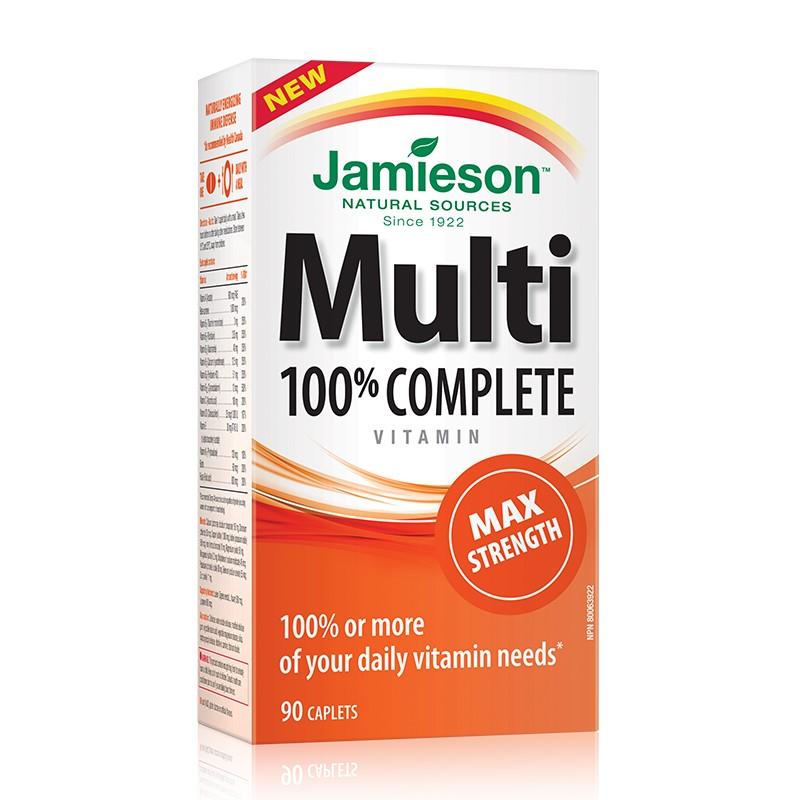 Multi 100% complete forte, 90 capsule, Jamieson