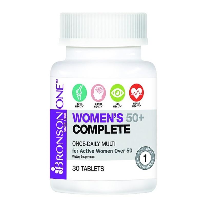 Multivitamine pentru femei peste 50 de ani, 30 tablete, Bronson Laboratories