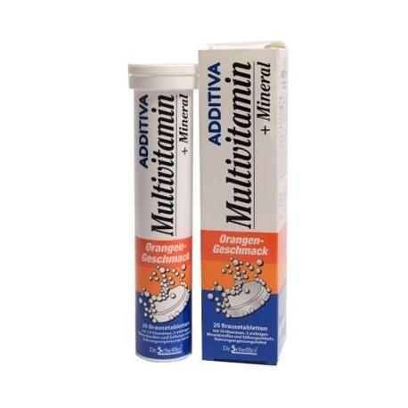 Multivitamine si minerale Additiva, 20 comprimate efervescente, Dr. Scheffler