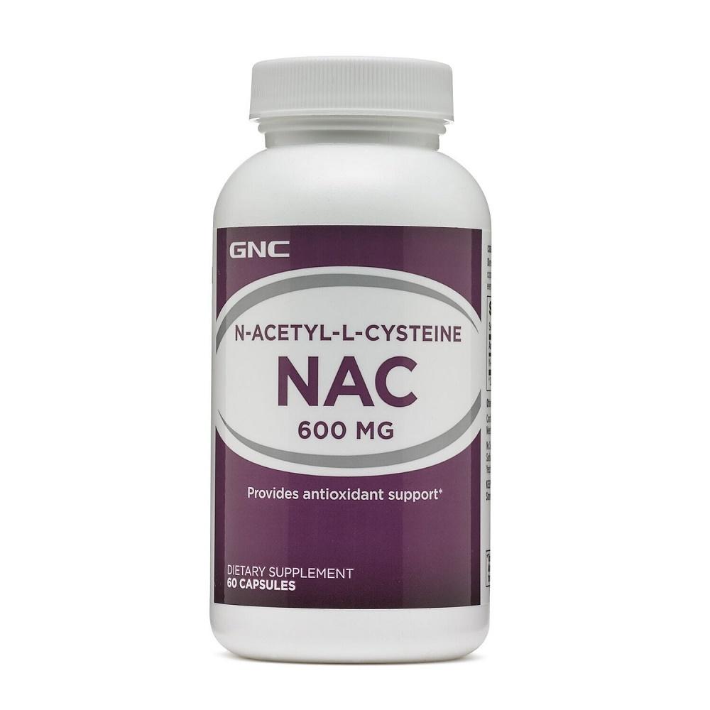 N-Acetil-L-Cisteina (126812), 60 capsule, GNC