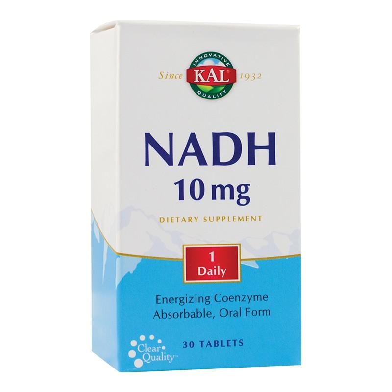 Nadh 10mg Kal, 30 tablete, Secom