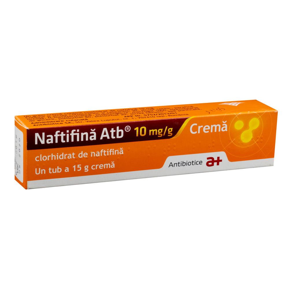 Naftifină cremă, 15 g, Antibiotice SA