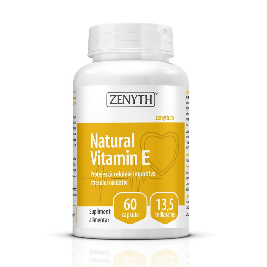 Vitamina E, 60 capsule, Zenyth