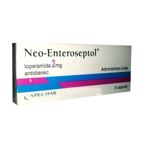 Neo-Enteroseptol, 6 capsule, Specifar