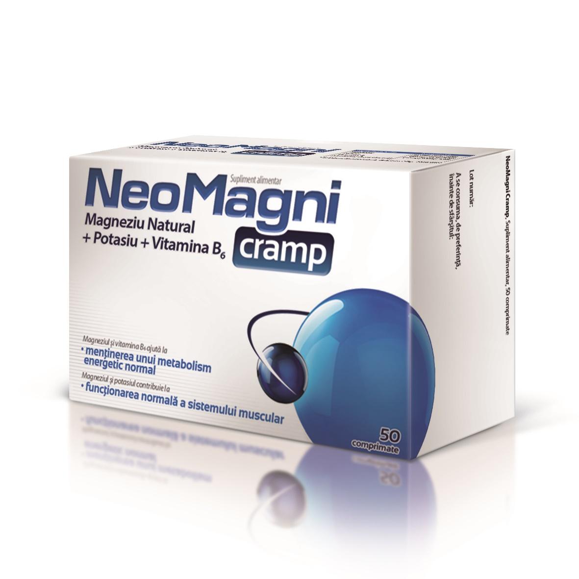 NeoMagni cramp, 50 comprimate, Aflofarm