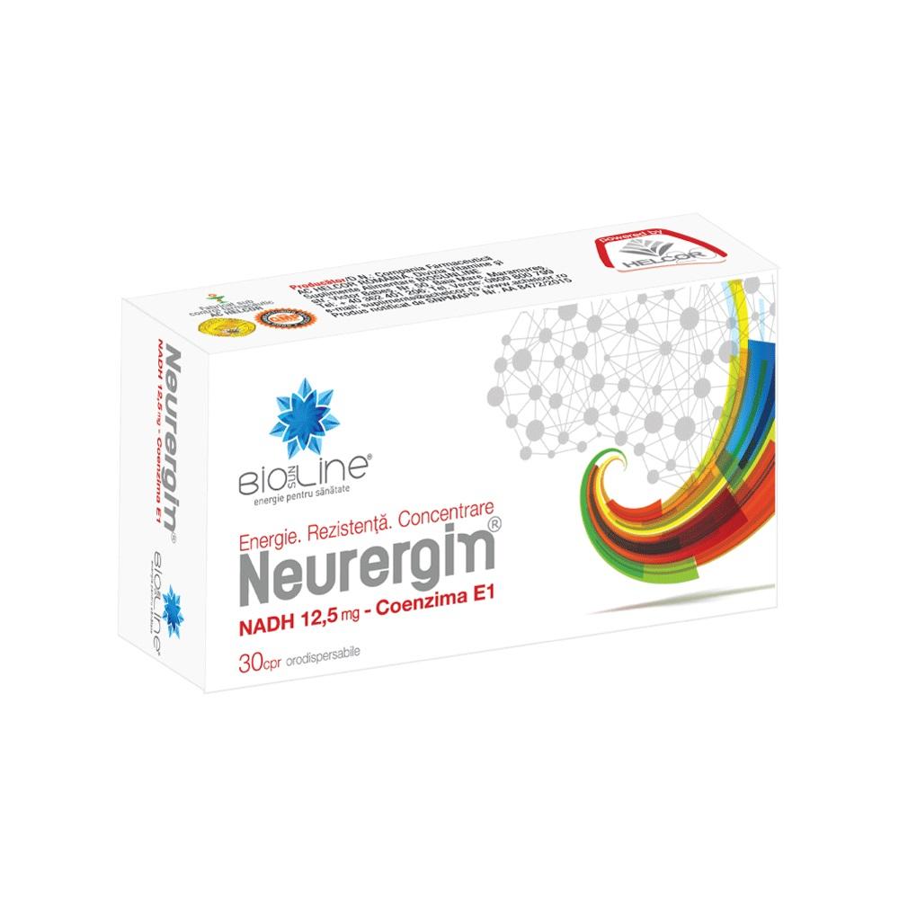 Neurergin, 30 comprimate, Helcor